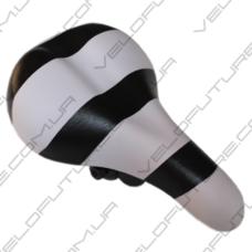 СЕДЛО велосипедное ДЕТСКОЕ AVANTI-006- Белое с Черным  4,6$
