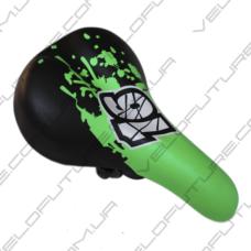 СЕДЛО велосипедное ДЕТСКОЕ AVANTI-006- Зеленое с Черным 16