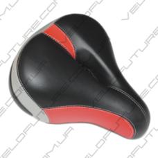 Седло широкое с дыркой (цветчерно-красный) 4,5$
